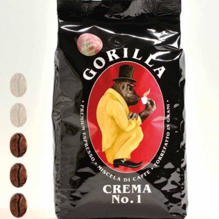 Gorilla Kaffee Crema No.1 schwarz