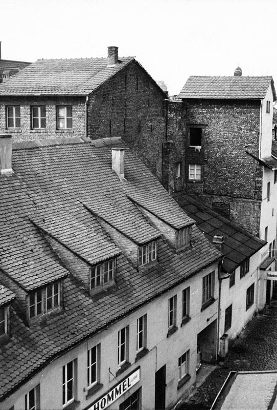 1949–1961 Wiederaufbau der Geschäftsräume durch Käthie und Albert Schenk
