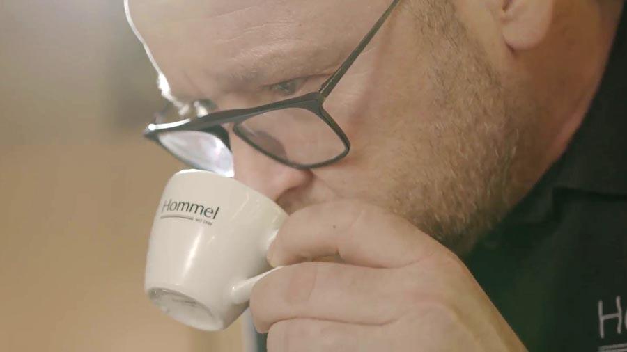 Michael Murschel ist dem perfekten Espresso auf der Spur