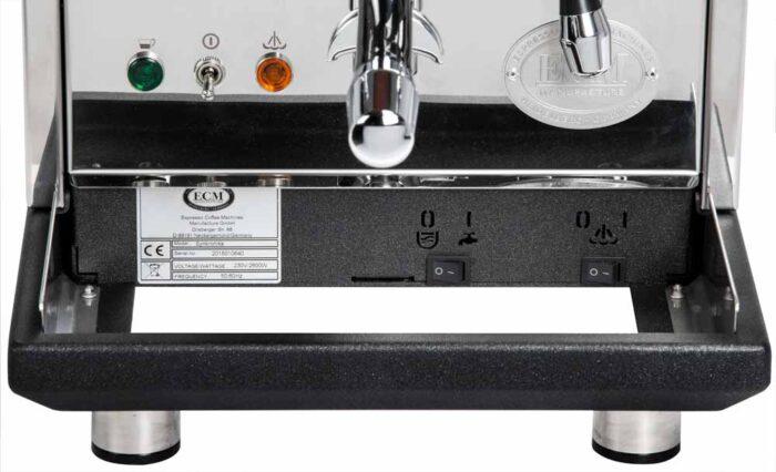ECM Sychronika Schalter unter Schale