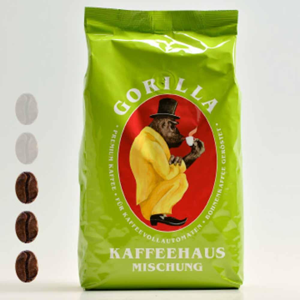 Gorilla Kaffeehausmischung Grün