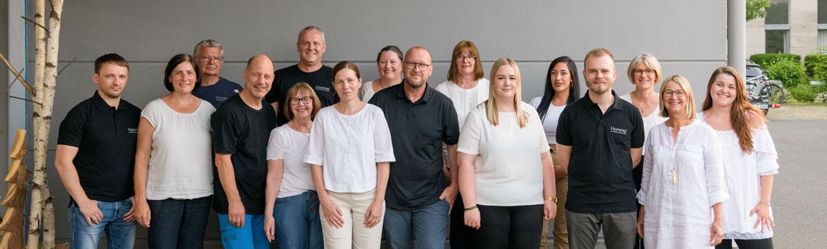 Das komplette Team von Hommel Kaffeesysteme